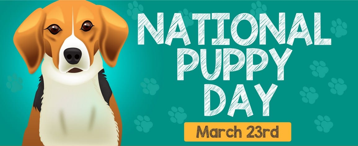National Puppy Day - March 23!