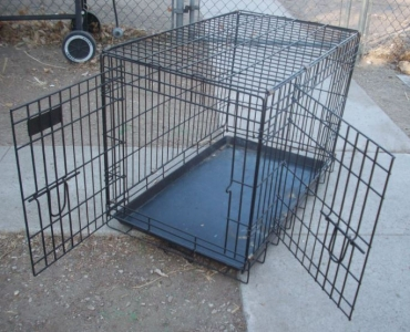 wire crate - dogs that escape